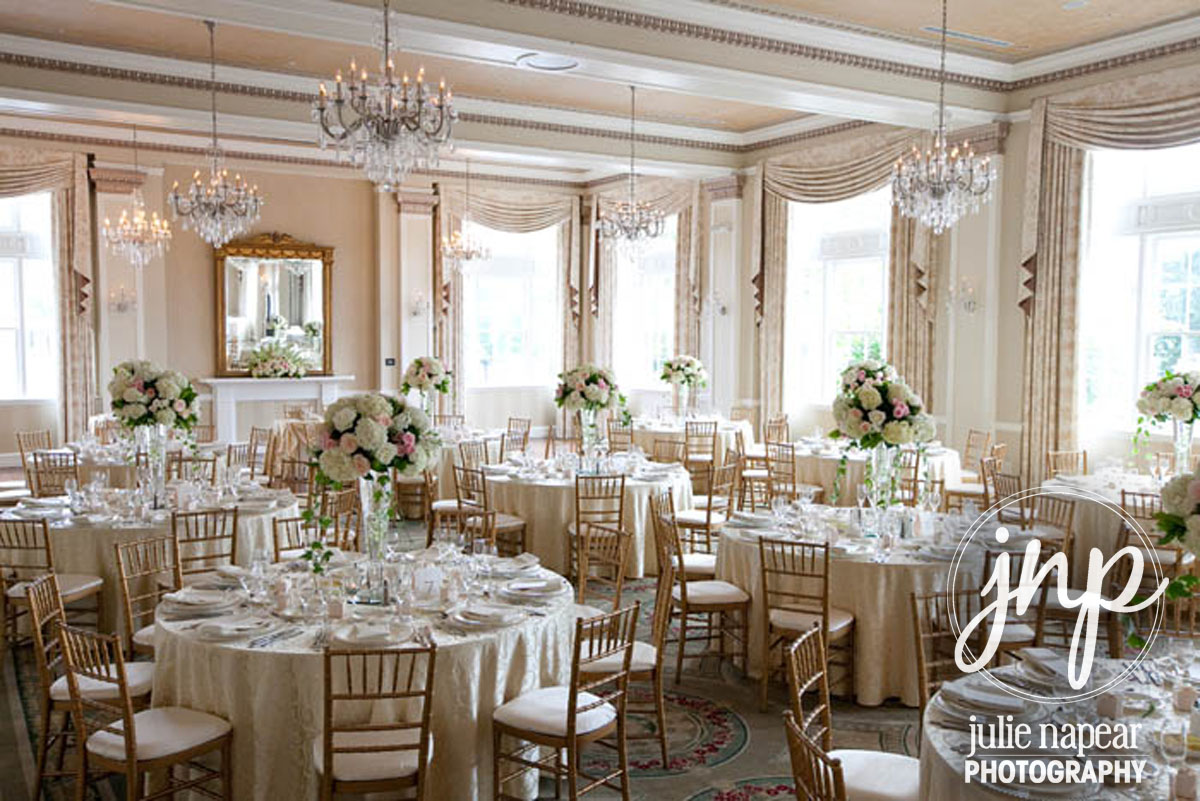 The Grand Ballroom Set For A Reception